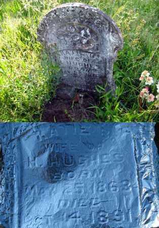 HUGHES, KATIE B. - Johnson County, Arkansas | KATIE B. HUGHES - Arkansas Gravestone Photos