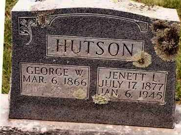 HUTSON, JENETT L - Johnson County, Arkansas | JENETT L HUTSON - Arkansas Gravestone Photos