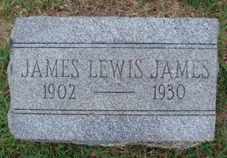 JAMES, JAMES LEWIS - Johnson County, Arkansas   JAMES LEWIS JAMES - Arkansas Gravestone Photos