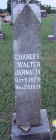 JARNAGIN, CHARLES WALTER - Johnson County, Arkansas | CHARLES WALTER JARNAGIN - Arkansas Gravestone Photos