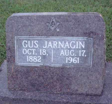 JARNAGIN, GUS - Johnson County, Arkansas | GUS JARNAGIN - Arkansas Gravestone Photos