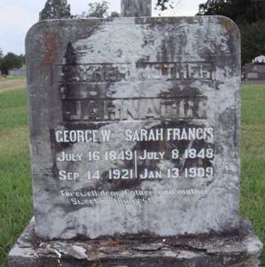 JARNAGIN, SARAH FRANCIS - Johnson County, Arkansas | SARAH FRANCIS JARNAGIN - Arkansas Gravestone Photos