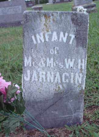 JARNAGIN, INFANT - Johnson County, Arkansas | INFANT JARNAGIN - Arkansas Gravestone Photos