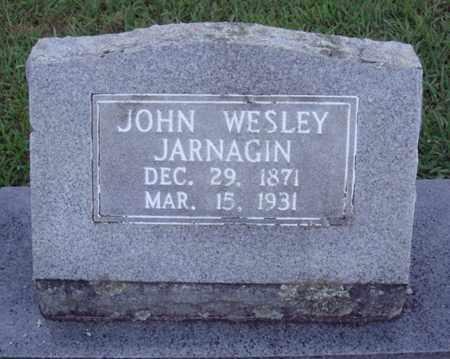 JARNAGIN, JOHN WESLEY - Johnson County, Arkansas | JOHN WESLEY JARNAGIN - Arkansas Gravestone Photos