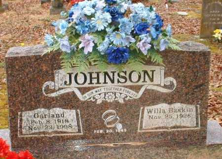 JOHNSON, GARLAND - Johnson County, Arkansas | GARLAND JOHNSON - Arkansas Gravestone Photos