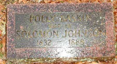JOHNSON, POLLY - Johnson County, Arkansas | POLLY JOHNSON - Arkansas Gravestone Photos