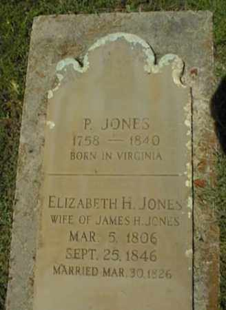 JONES, ELIZABETH H - Johnson County, Arkansas | ELIZABETH H JONES - Arkansas Gravestone Photos