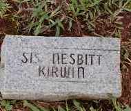 NESBITT KINWIN, SIS - Johnson County, Arkansas | SIS NESBITT KINWIN - Arkansas Gravestone Photos