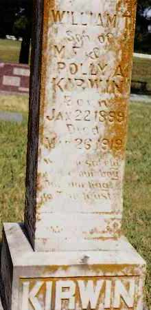 KIRWIN, WILLIAM T - Johnson County, Arkansas | WILLIAM T KIRWIN - Arkansas Gravestone Photos