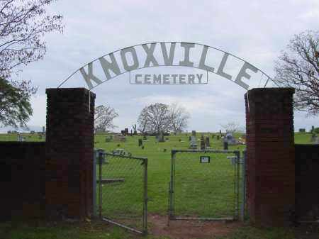 *KNOXVILLE CEMETERY, SIGN - Johnson County, Arkansas | SIGN *KNOXVILLE CEMETERY - Arkansas Gravestone Photos
