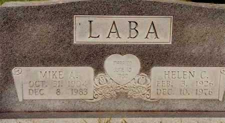 LABA, HELEN C. - Johnson County, Arkansas | HELEN C. LABA - Arkansas Gravestone Photos