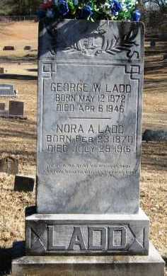 LADD, GEORGE W - Johnson County, Arkansas | GEORGE W LADD - Arkansas Gravestone Photos