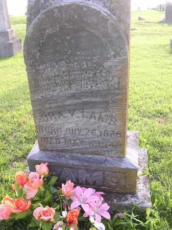 LAMB, ORA V - Johnson County, Arkansas   ORA V LAMB - Arkansas Gravestone Photos