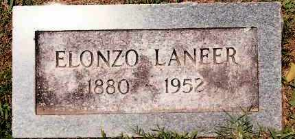 LANEER, ELONZO - Johnson County, Arkansas | ELONZO LANEER - Arkansas Gravestone Photos