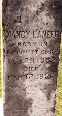 LANEER, NANCY - Johnson County, Arkansas | NANCY LANEER - Arkansas Gravestone Photos