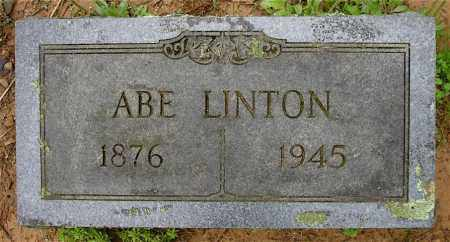 LINTON, ABE - Johnson County, Arkansas | ABE LINTON - Arkansas Gravestone Photos