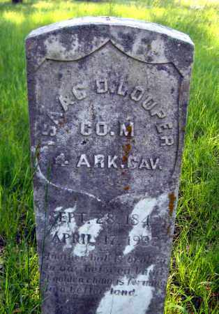 LOOPER (VETERAN UNION), ISAAC D - Johnson County, Arkansas | ISAAC D LOOPER (VETERAN UNION) - Arkansas Gravestone Photos