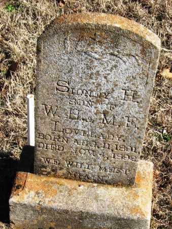 LOVELADY, SIDNEY H - Johnson County, Arkansas | SIDNEY H LOVELADY - Arkansas Gravestone Photos