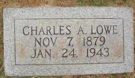 LOWE, CHARLES A. - Johnson County, Arkansas | CHARLES A. LOWE - Arkansas Gravestone Photos