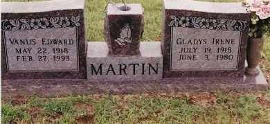 MARTIN, GLADYS IRENE - Johnson County, Arkansas | GLADYS IRENE MARTIN - Arkansas Gravestone Photos
