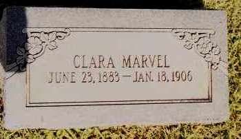 MARVEL, CLARA - Johnson County, Arkansas | CLARA MARVEL - Arkansas Gravestone Photos