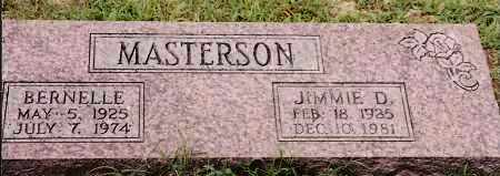 MASTERSON, BERNELLE - Johnson County, Arkansas | BERNELLE MASTERSON - Arkansas Gravestone Photos
