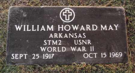 MAY  (VETERAN WWII), WILLIAM HOWARD - Johnson County, Arkansas | WILLIAM HOWARD MAY  (VETERAN WWII) - Arkansas Gravestone Photos