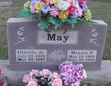 "MAY, JR., OTHELLA ""PEE WEE"" - Johnson County, Arkansas 
