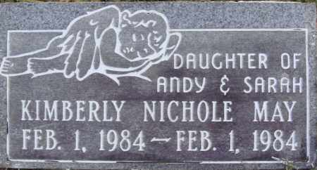 MAY, KIMBERLY NICHOLE - Johnson County, Arkansas | KIMBERLY NICHOLE MAY - Arkansas Gravestone Photos