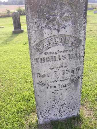 MAY, NANNIE - Johnson County, Arkansas | NANNIE MAY - Arkansas Gravestone Photos