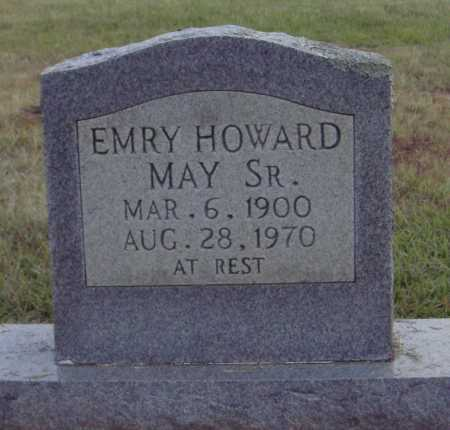 MAY SR., EMRY HOWARD - Johnson County, Arkansas | EMRY HOWARD MAY SR. - Arkansas Gravestone Photos