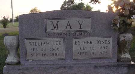 MAY, ESTHER - Johnson County, Arkansas | ESTHER MAY - Arkansas Gravestone Photos