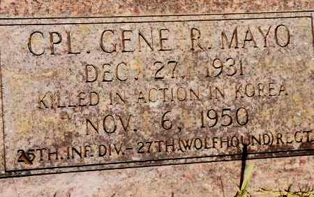 MAYO  (VETERAN KOR KIA), GENE R - Johnson County, Arkansas | GENE R MAYO  (VETERAN KOR KIA) - Arkansas Gravestone Photos