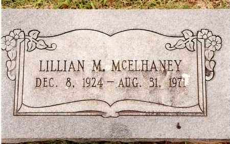 MCELHANEY, LILLIAN M - Johnson County, Arkansas | LILLIAN M MCELHANEY - Arkansas Gravestone Photos