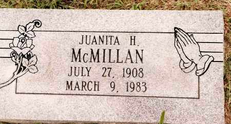 MCMILLAN, JUANITA H. - Johnson County, Arkansas | JUANITA H. MCMILLAN - Arkansas Gravestone Photos