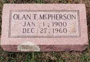 MCPHERSON, OLAN T. - Johnson County, Arkansas | OLAN T. MCPHERSON - Arkansas Gravestone Photos