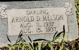 MELSON, ARNOLD D. - Johnson County, Arkansas | ARNOLD D. MELSON - Arkansas Gravestone Photos