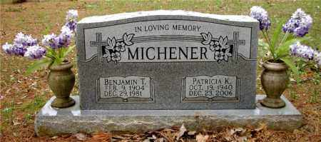 MICHENER, PATRICIA K, - Johnson County, Arkansas | PATRICIA K, MICHENER - Arkansas Gravestone Photos
