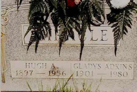 MIRACLE, HUGH A. - Johnson County, Arkansas | HUGH A. MIRACLE - Arkansas Gravestone Photos