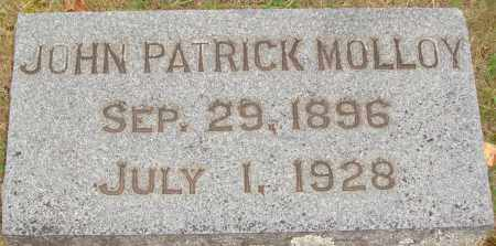 MOLLOY, JOHN PATRICK - Johnson County, Arkansas | JOHN PATRICK MOLLOY - Arkansas Gravestone Photos