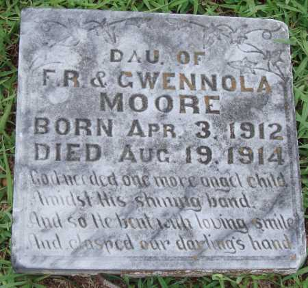 MOORE, INFANT DAUGHTER - Johnson County, Arkansas | INFANT DAUGHTER MOORE - Arkansas Gravestone Photos