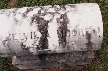 MOORE, MELVIL A. - Johnson County, Arkansas | MELVIL A. MOORE - Arkansas Gravestone Photos