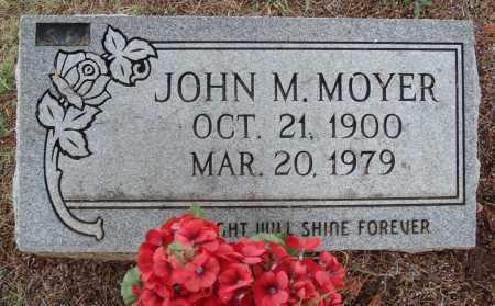 MOYER, JOHN M. - Johnson County, Arkansas | JOHN M. MOYER - Arkansas Gravestone Photos