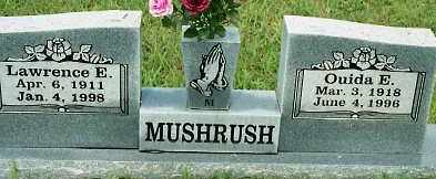 MUSHRUSH, LAWRENCE E. - Johnson County, Arkansas | LAWRENCE E. MUSHRUSH - Arkansas Gravestone Photos