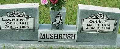 MUSHRUSH, OUIDA E. - Johnson County, Arkansas | OUIDA E. MUSHRUSH - Arkansas Gravestone Photos