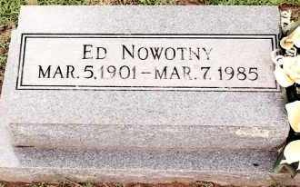 NOWOTNY, ED - Johnson County, Arkansas | ED NOWOTNY - Arkansas Gravestone Photos