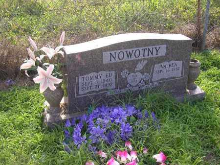 NOWOTNY, TOMMY ED - Johnson County, Arkansas | TOMMY ED NOWOTNY - Arkansas Gravestone Photos