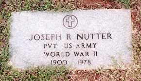NUTTER (VETERAN WWII), JOSEPH R - Johnson County, Arkansas | JOSEPH R NUTTER (VETERAN WWII) - Arkansas Gravestone Photos