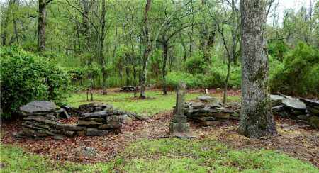 *OLD KING CEMETERY OVERVIEW,  - Johnson County, Arkansas |  *OLD KING CEMETERY OVERVIEW - Arkansas Gravestone Photos