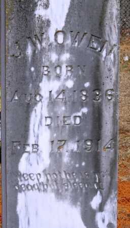 OWEN, J  W - Johnson County, Arkansas | J  W OWEN - Arkansas Gravestone Photos
